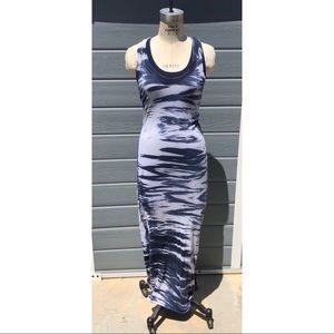 Enza Costa for Intermix | tie dye maxi dress